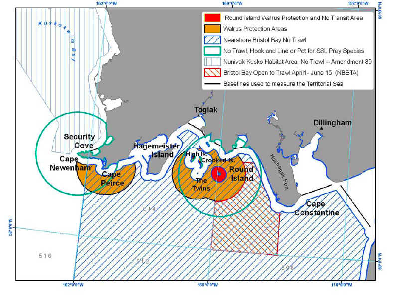 Walrus Protection Zones